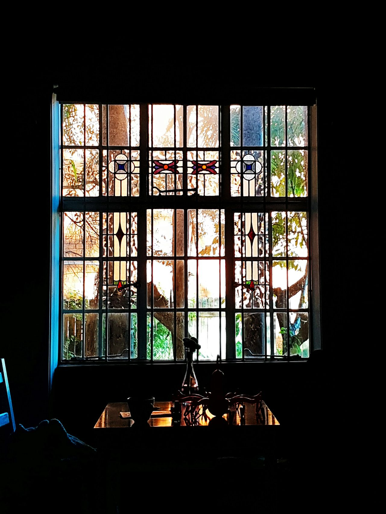 Morning Light in Randwick. 2016 05 14 Window Light And Shadow Sunny Day Stained Glass Window