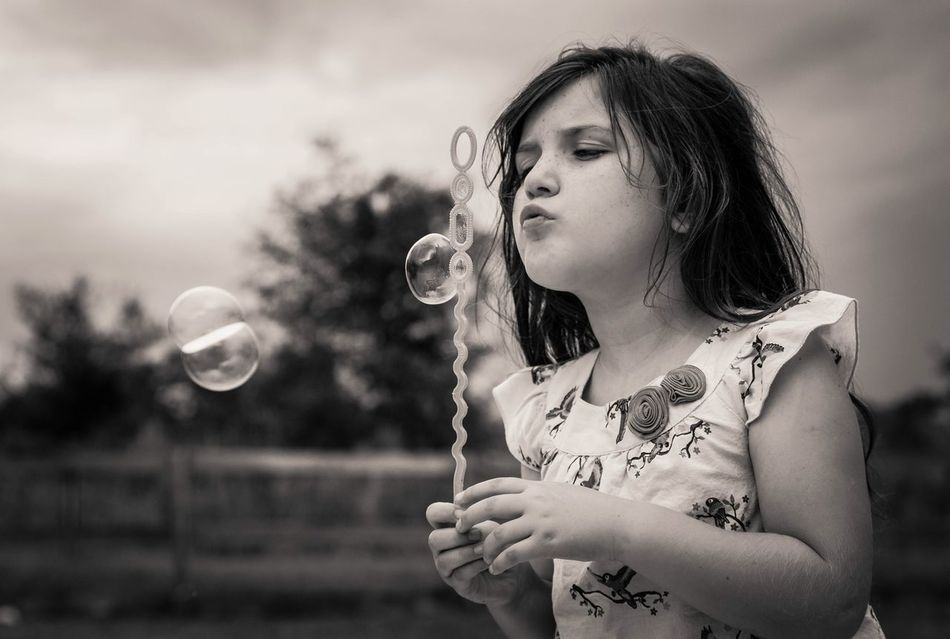 Beautiful stock photos of bubbles, Blowing, Bubble, Bubble Wand, Casual Clothing