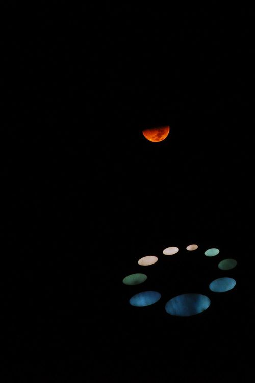 No People Black Background Red Night Close-up Nature Red Moon SetBlack Background Red Moon Beauty Red Moon Night Red Moon Gibbous Moon Gibbous Space Moon