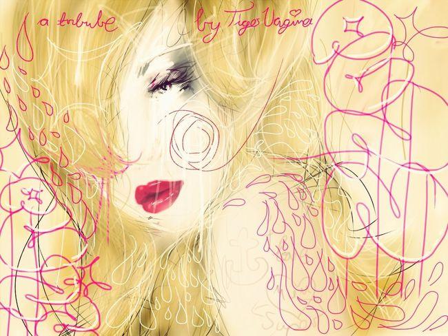 Illustrating Girl