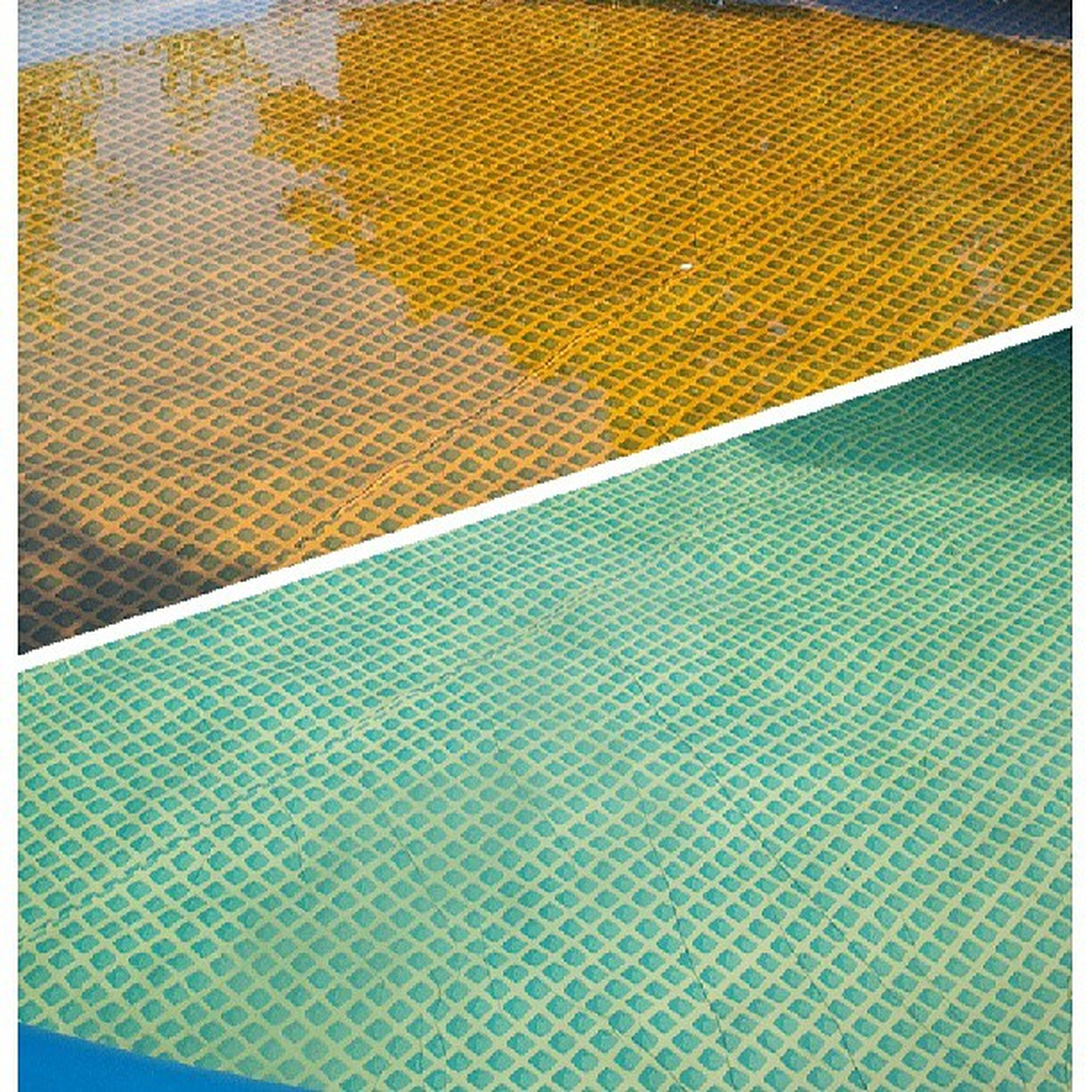 transfer print, pattern, auto post production filter, full frame, backgrounds, textured, indoors, design, close-up, high angle view, no people, multi colored, textile, fabric, striped, yellow, abstract, wall - building feature, day, repetition