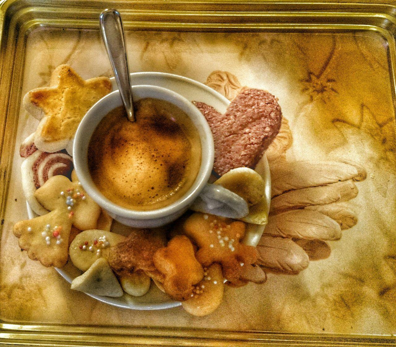 le café cet après-midi.. Coffee Time Cookies Snapspeed