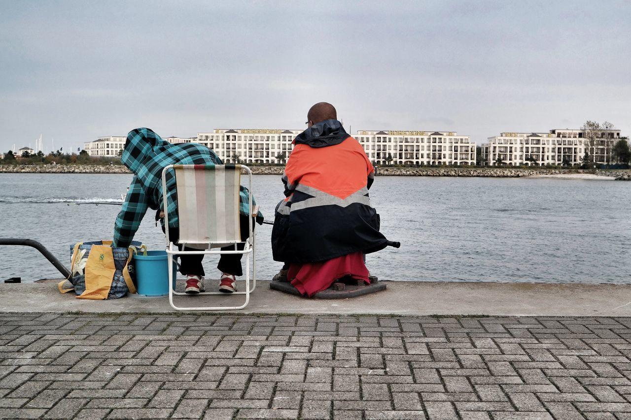 Angler im Hafen Streetphotography Samsung Nx300 Walking Around OpenEdit Taking Photos EyeEm Best Shots Rostock Ostsee