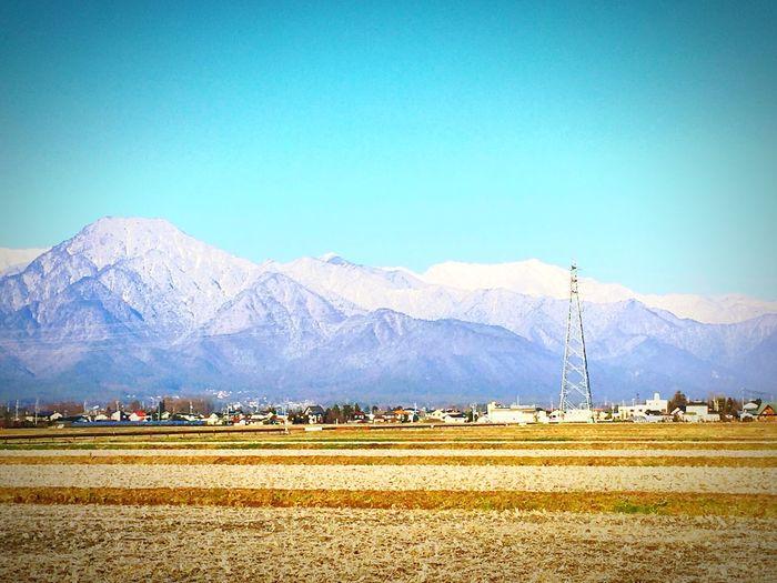 アルプス山脈 雪 Snow Mountain 有明 Beautiful My Town