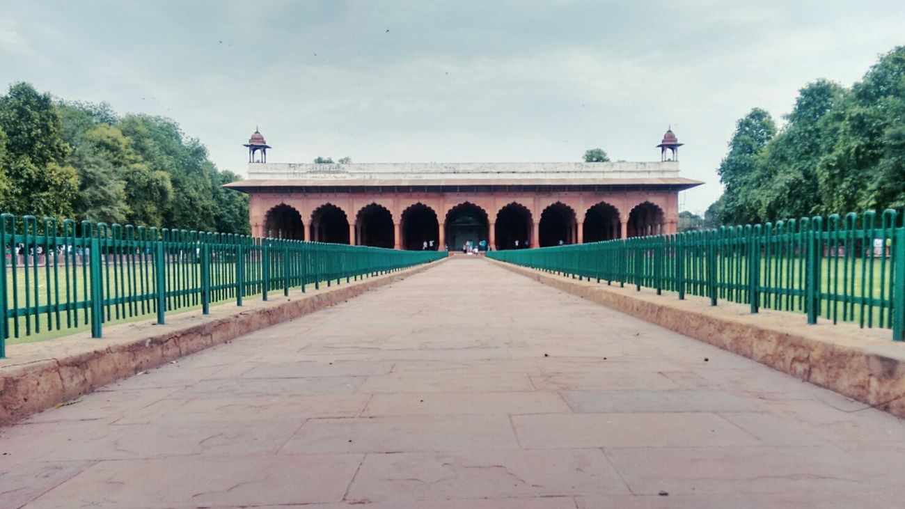Sightseeing Redfort Historical Sights Chandnichowk Phone Camera Photography