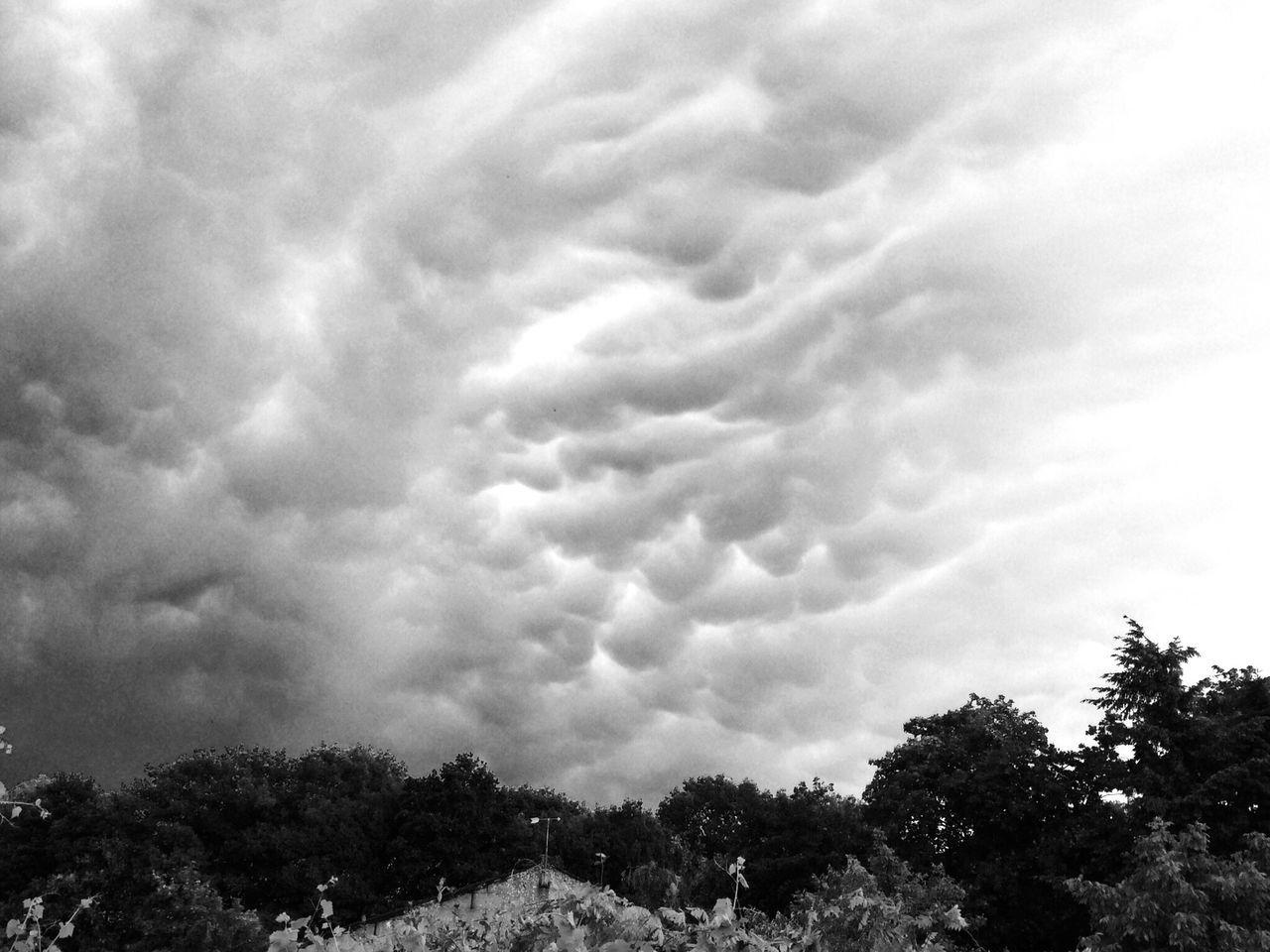 Lightning Thunder Clouds strange bulbs