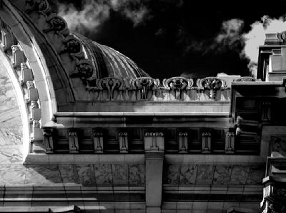 Bellas Artes Palace Architecture Bellas Artes, México D.F. Architecture Bellas Artes,México City Black And White City Day Details México City Downtown No People Outdoors Sky First Eyeem Photo