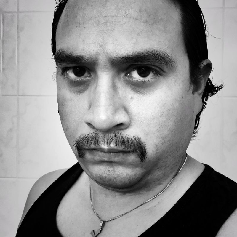 Day 334 - Movember 2015. - iPhone 6 - Native App - Snapseed App Movember My Mo For Movember Movember2015 Show Us Your Mo By Movember Movember Presents: Show Us Your Mo IPhone IPhoneography Iphoneonly Munich Germany Black And White Black & White Portrait Self Portrait
