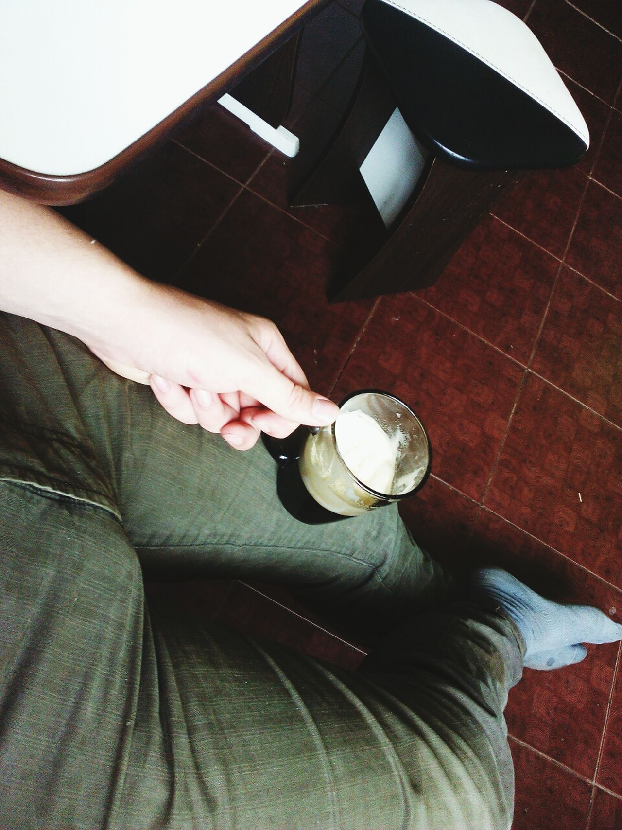 People One Person Day Coffee ноги утро