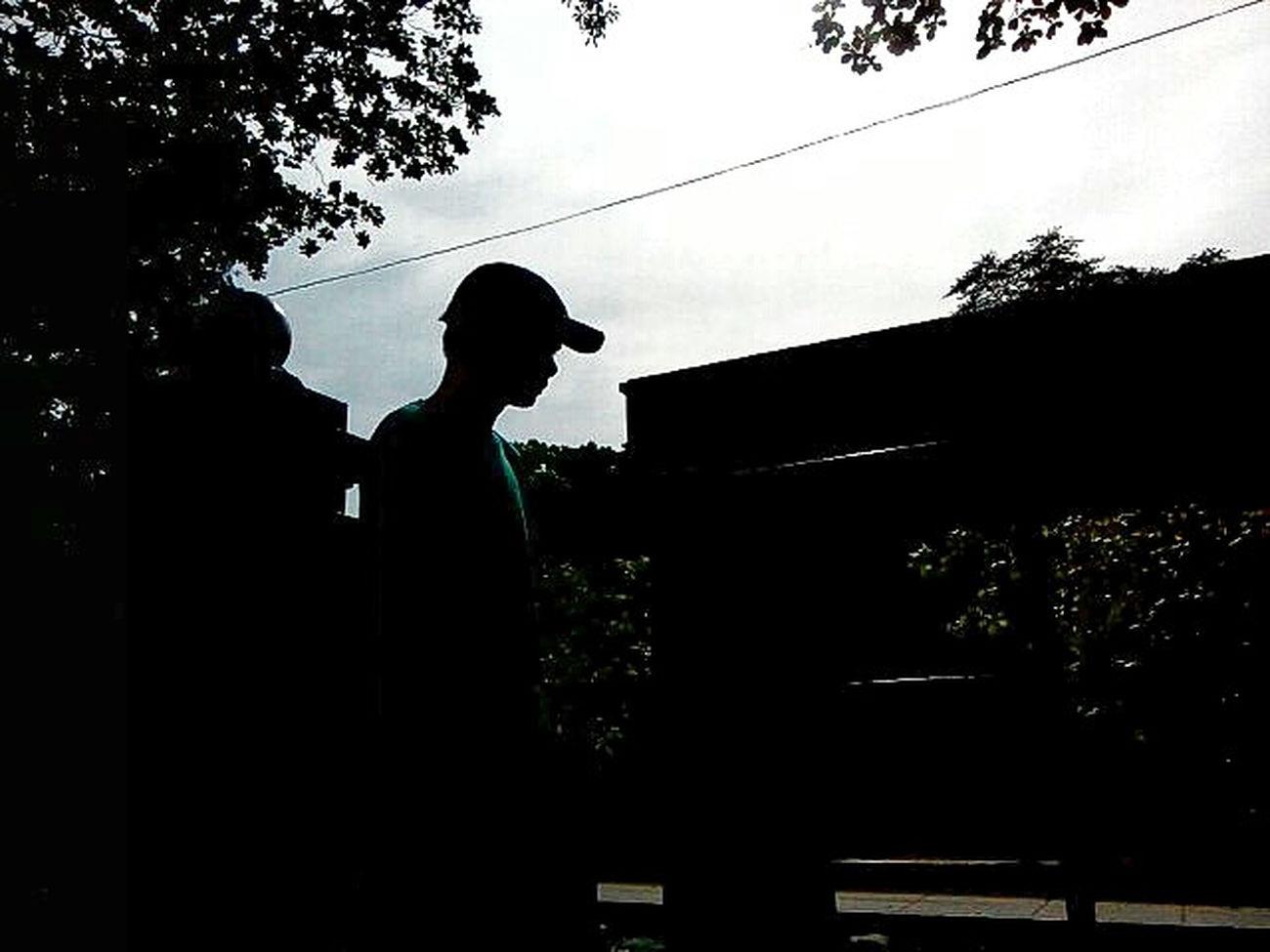 Silhouette One Person Outdoors Streetphotography Eyeem Philippines EyeEm Best Shots LitratistaSaDaan EyeEm CaptureTheMoment
