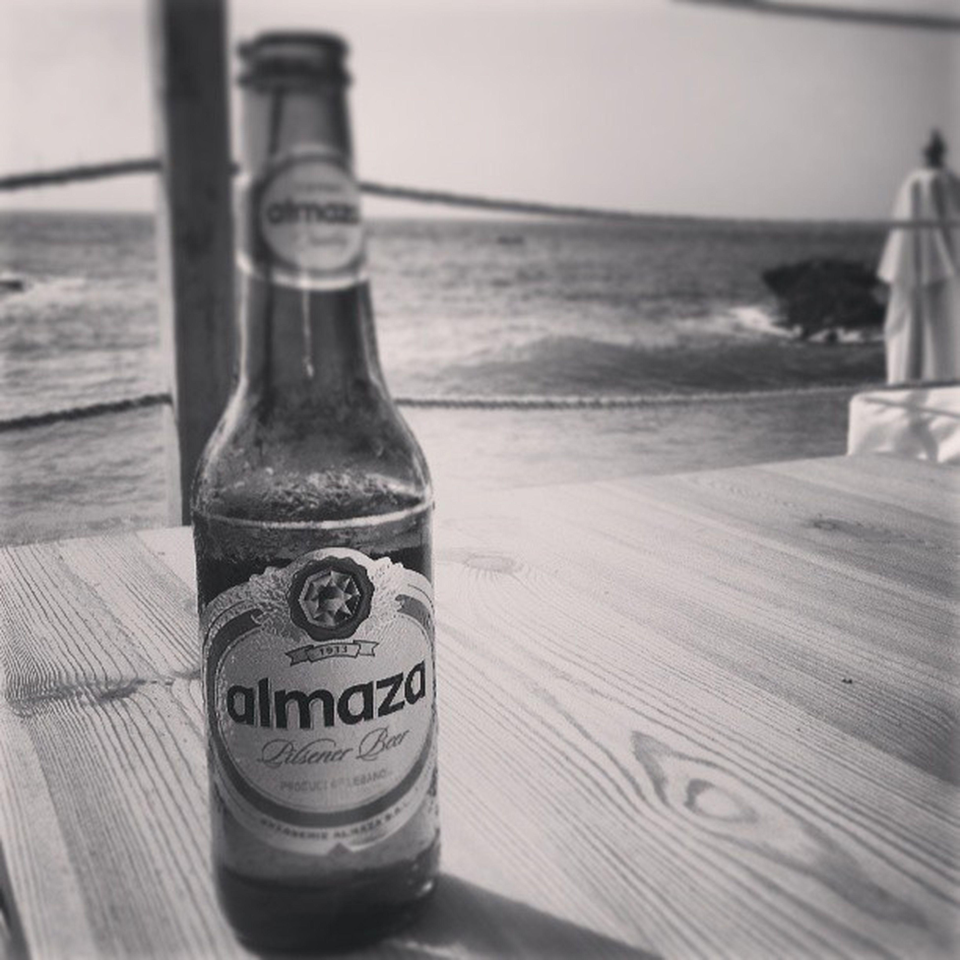 Not the best Beer but it'll do Almaza Pilsener
