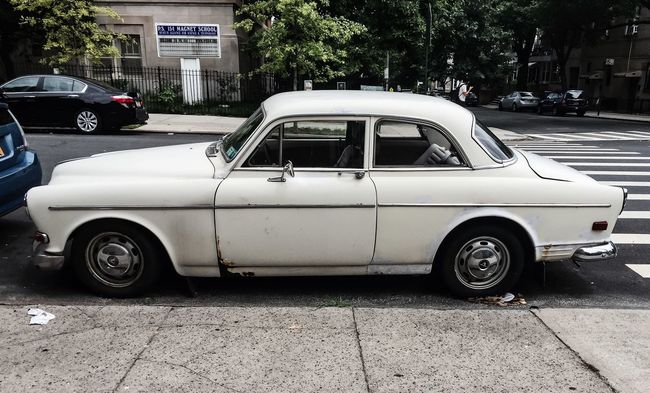 Volvo Classic Automobile Brooklyn NYC IPhoneography Timyoungiphoneography Summer2016
