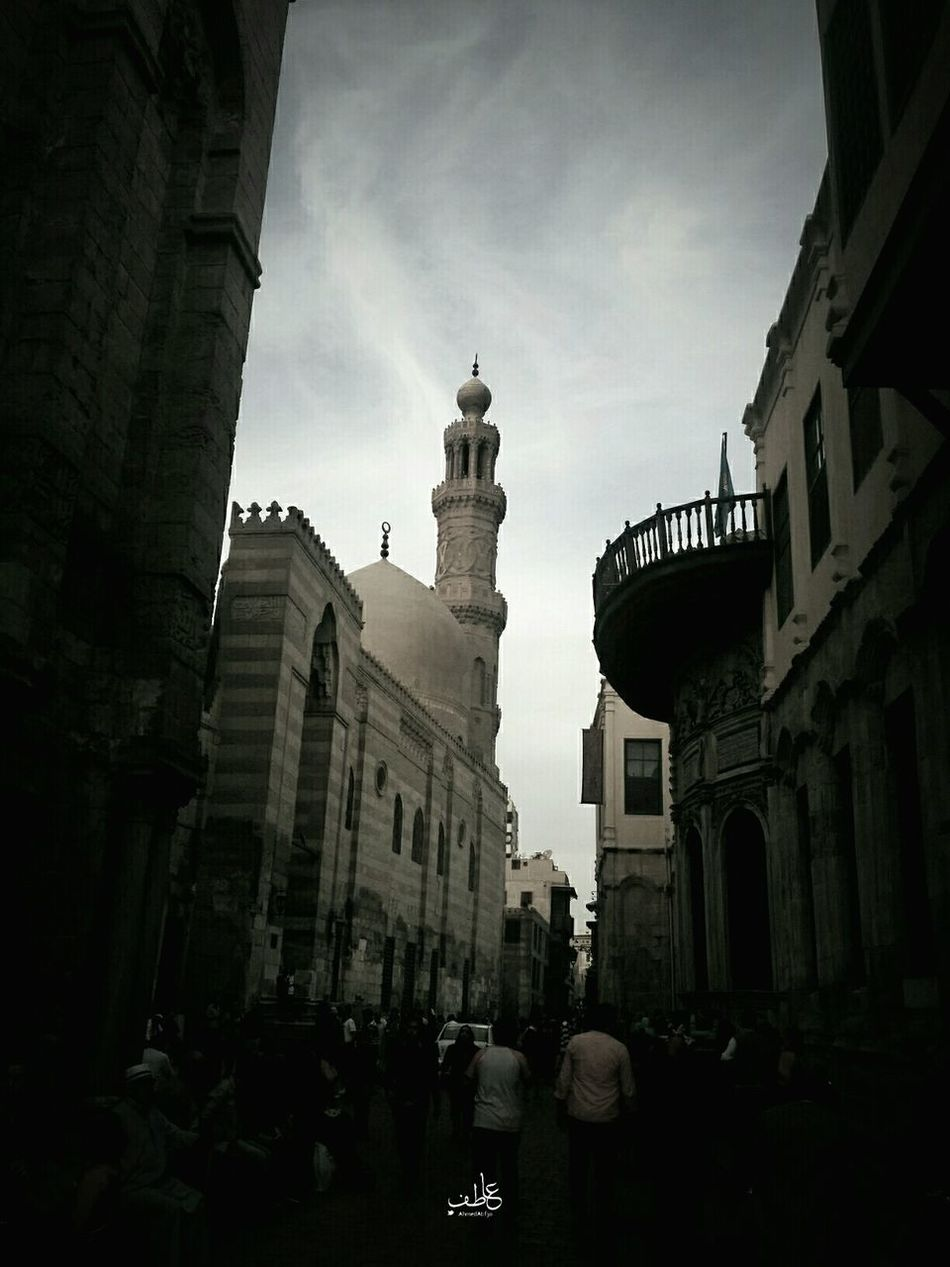 B&w Street Photography First Eyeem Photo Mumluk Oldcairo Architecture Architecture_bw Egypt Tour Tourism As old as the street is as the old we are where in every corner of the street you can find the features of your face as you were born to complete the scene