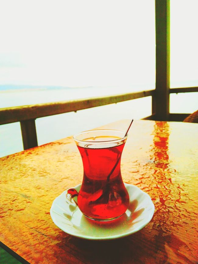 Its Rainy In The Air Enjoy Tea..