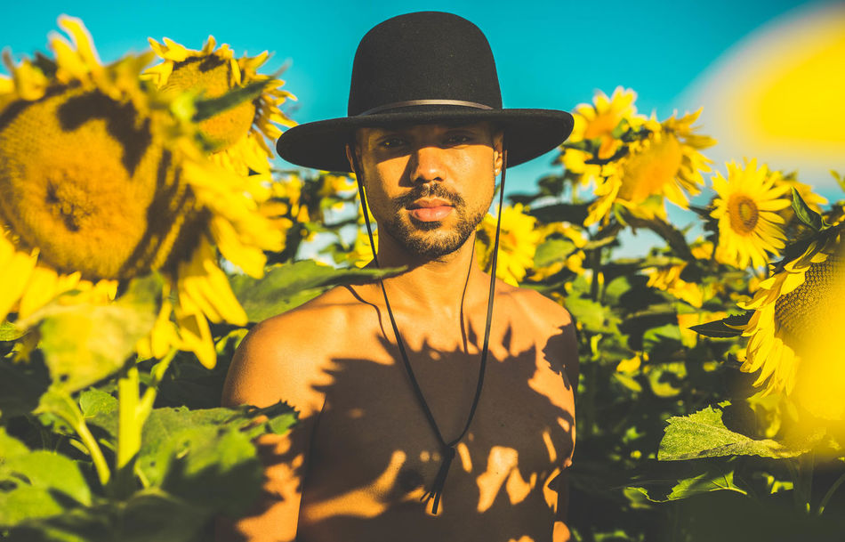 Beautiful stock photos of sonnenblume, one person, men, flower, outdoors