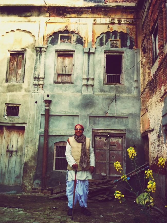What I Value is a smile on my grandfather's face on seeing the house he was brought up in after a day long journey! Ancestralhouse Grandpalove :) First Eyeem Photo