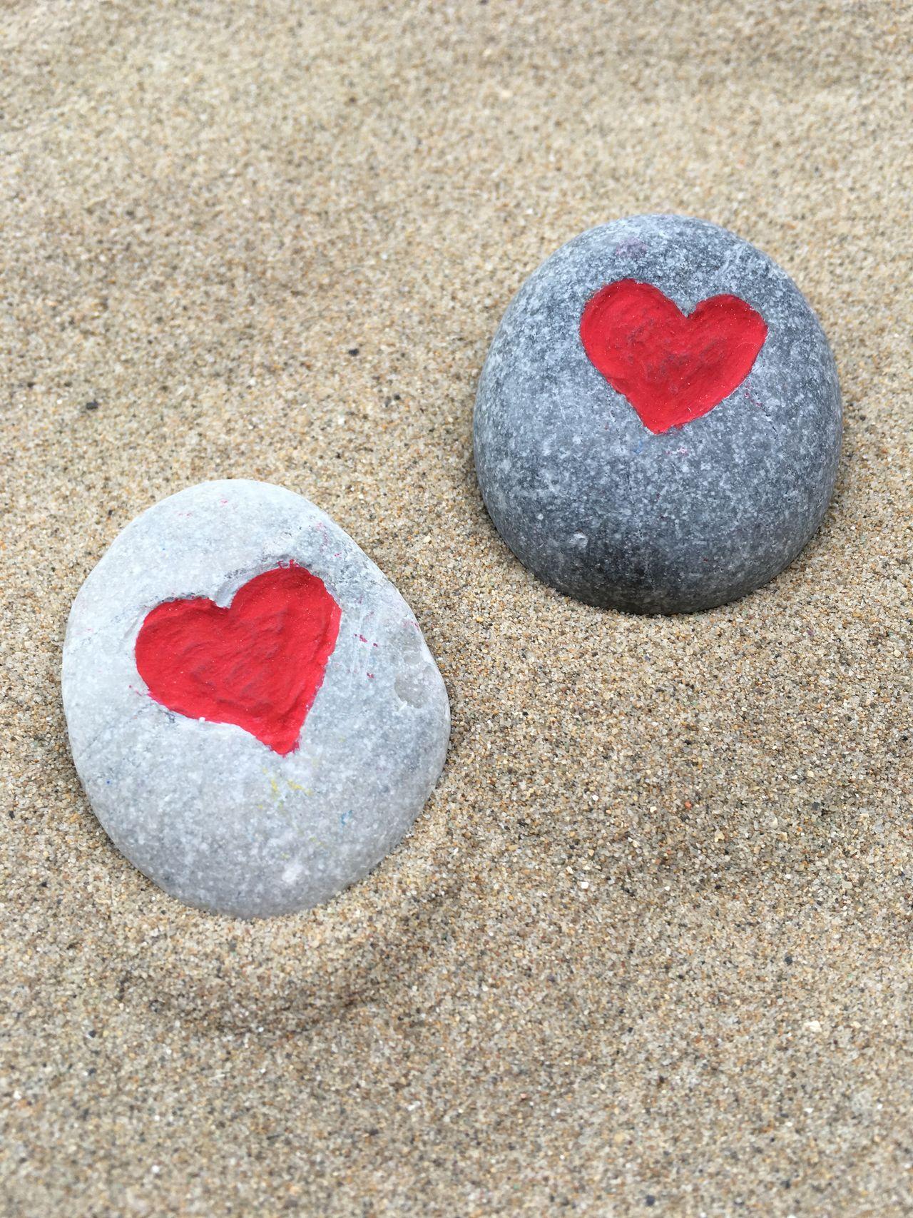 Beautiful stock photos of valentinstag, Art, Art And Craft, Beach, Craft
