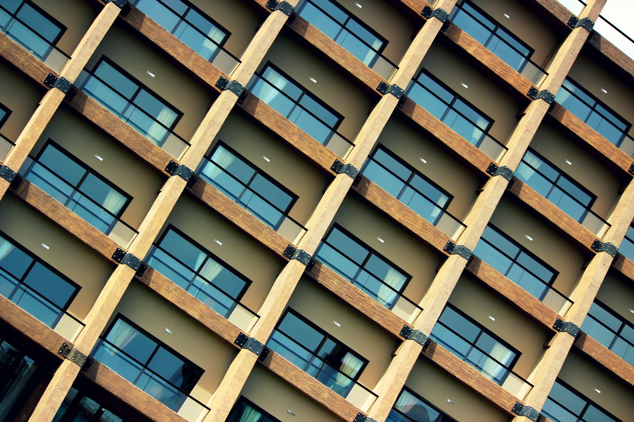 windows Architecture Backgrounds Building Exterior Built Structure City Day Full Frame Low Angle View No People Outdoors Pattern Window Windows