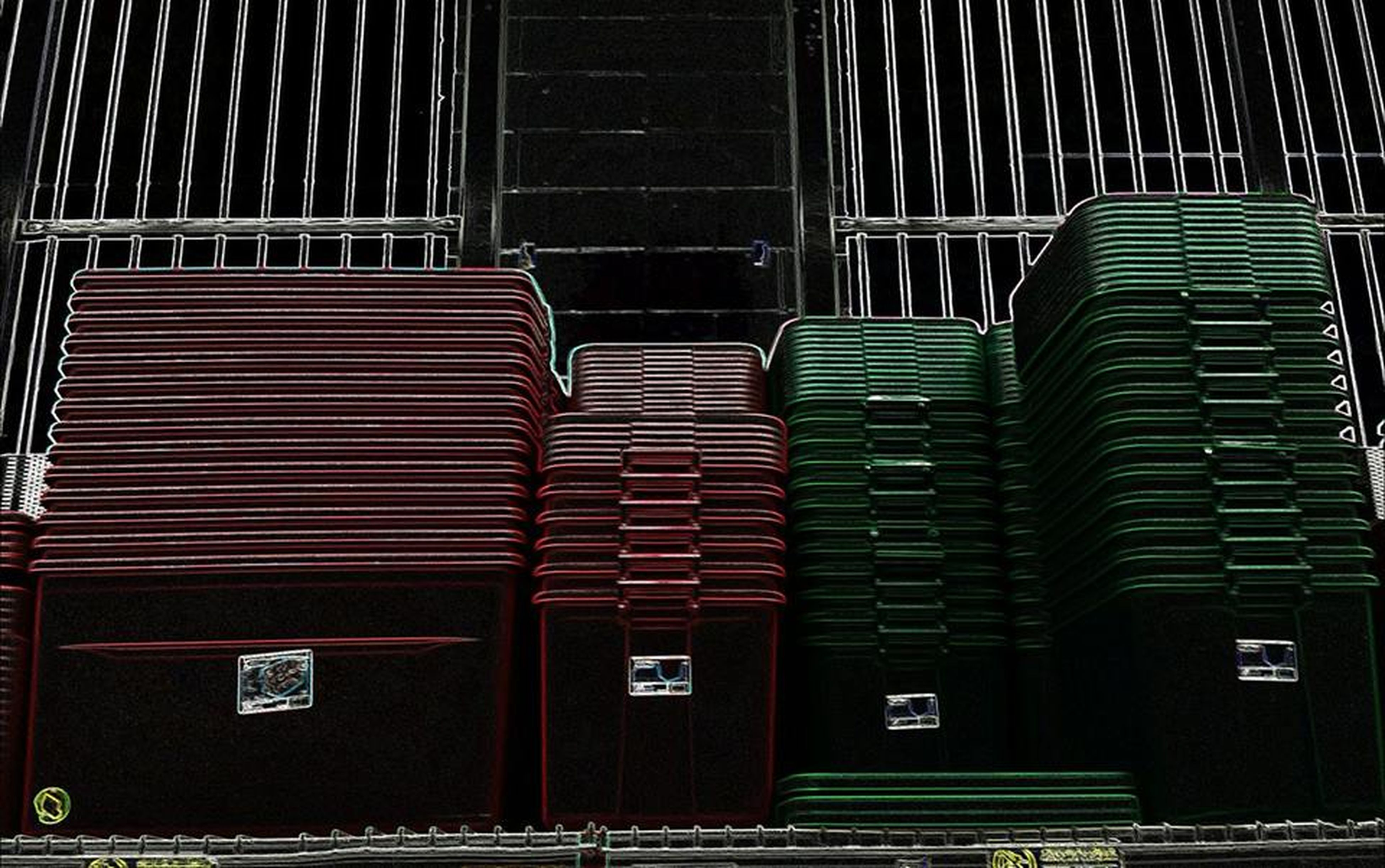 Arrangement Christmas Storage Containers Day Green No People Outdoors Pattern Red Stacks  Storage Containers Tubs