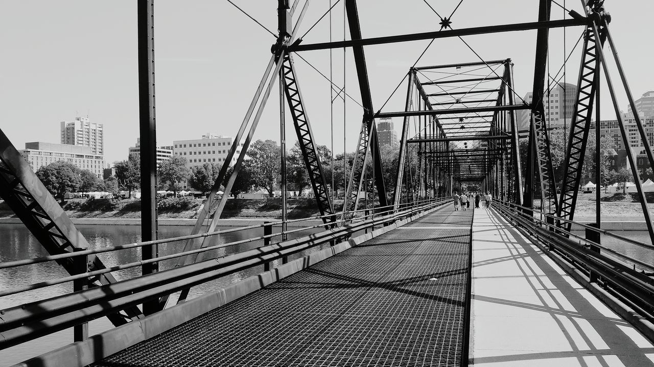Walnutstbridge Bridges Blackandwhite Photography Bridge View EyeEm Best Shots - Black + White Harrisburg, Pa Harrisburg Followme Black And White Creative Light And Shadow