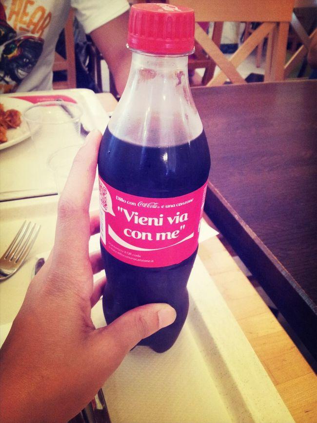 Coca Cola Chilling With My Love Vieni Via Con Me ♥