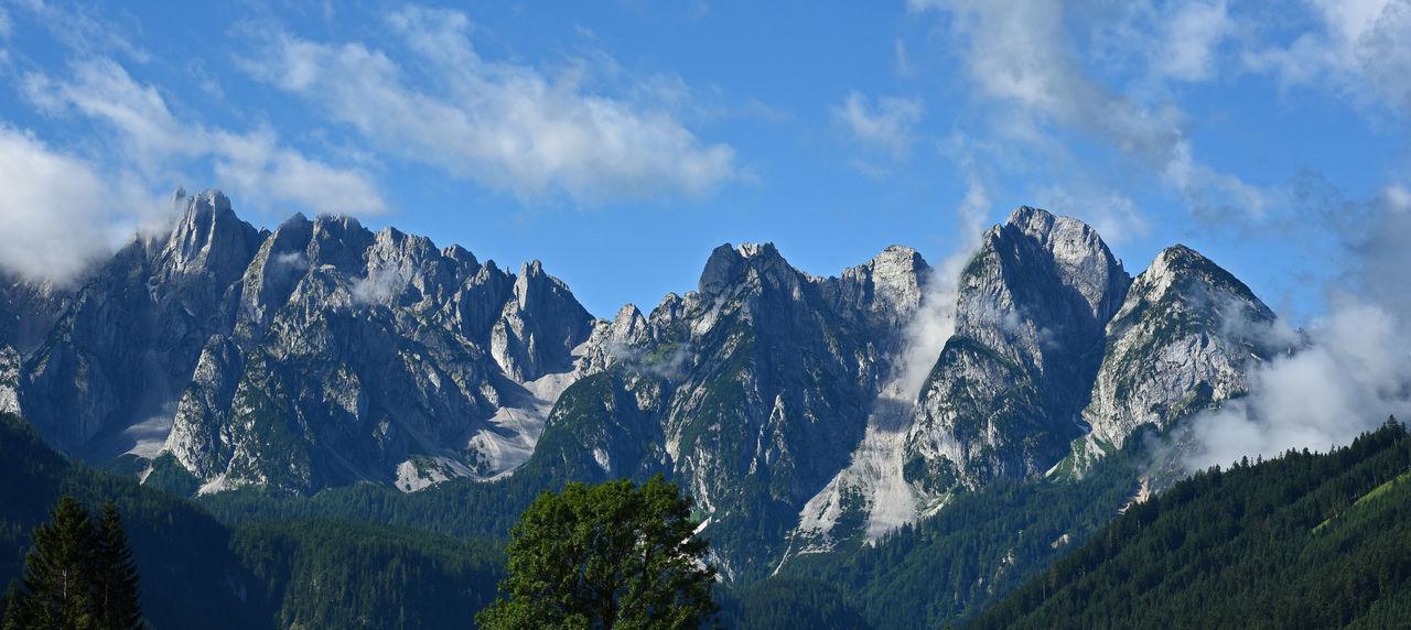 Austria Austria Mountains Austrian Alps Austrian Mountains Beauty In Nature Day Gosau Gosaukamm Landscape Mountain Mountain Range Nature No People Outdoors Salzkammergut Scenics Sky EyeEm Selects