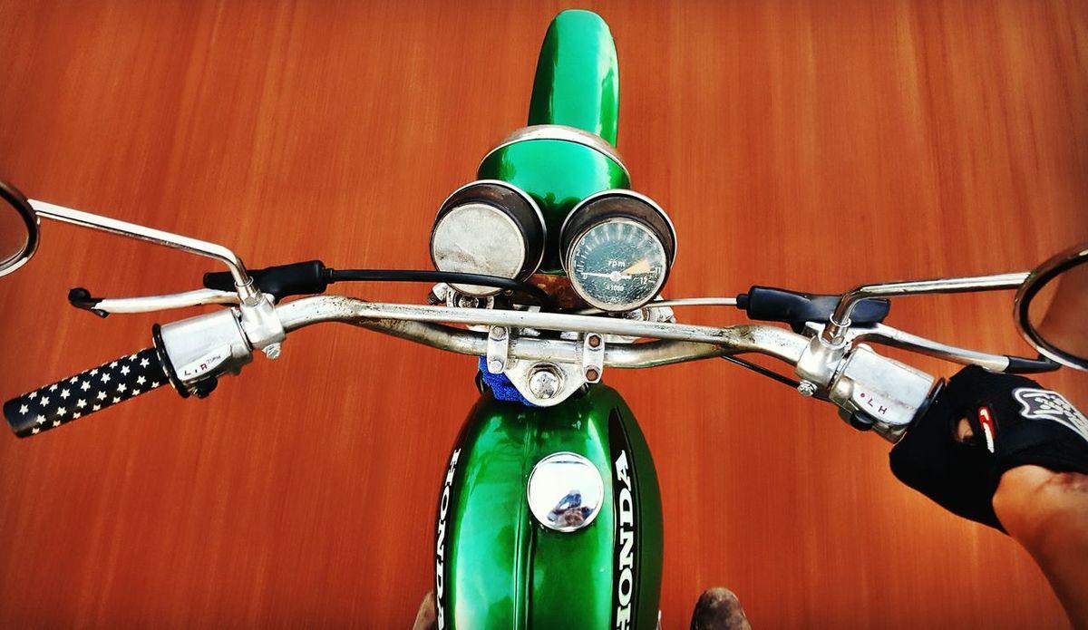 Hondasl125 SumsungS6edge Thailand Enduro