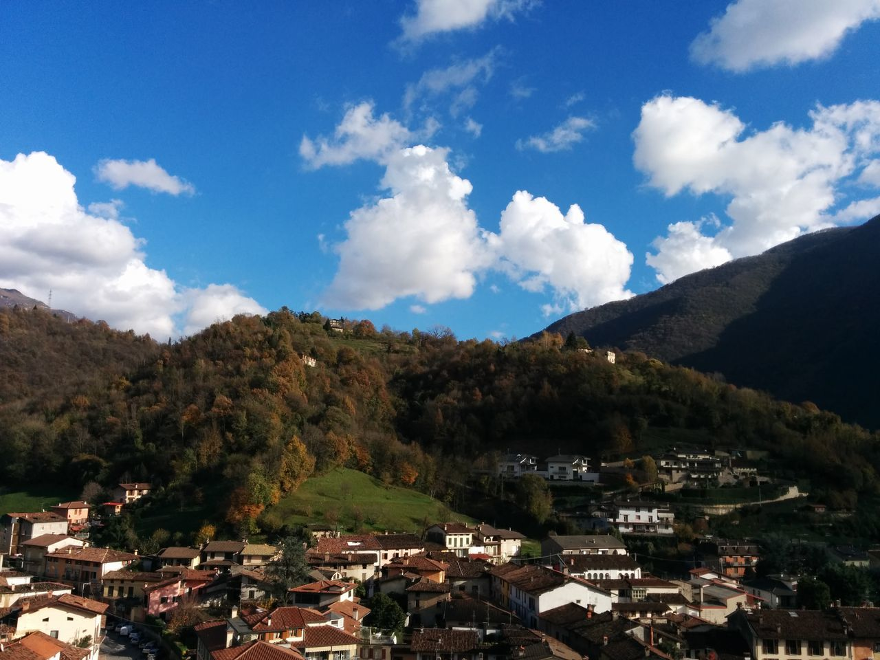 Domenica di paese Autumn Colors Hillside Blue Sky Freshness Skylover Village Life EyeEm Italy