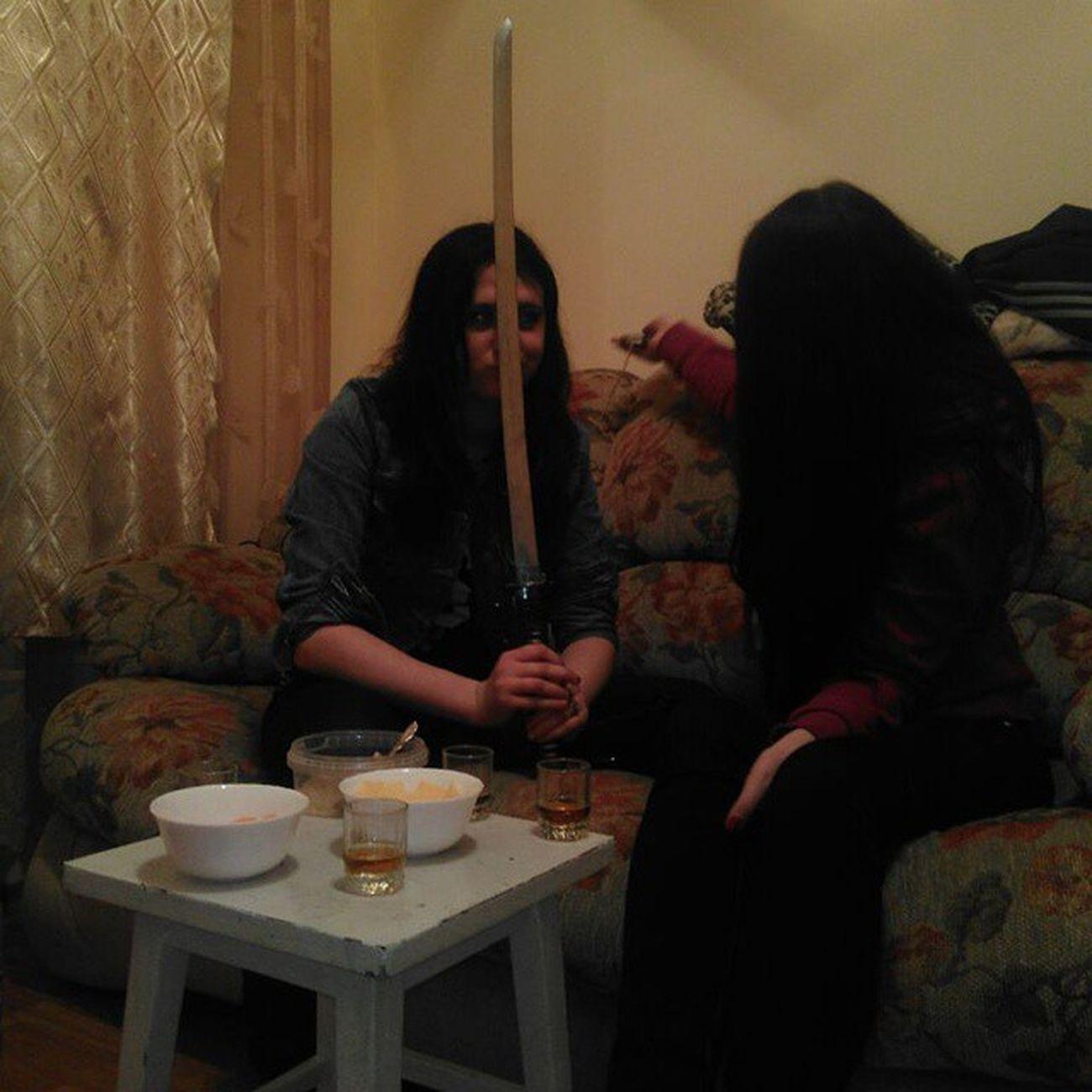 когда делать нечего катана была холодненькая ))))