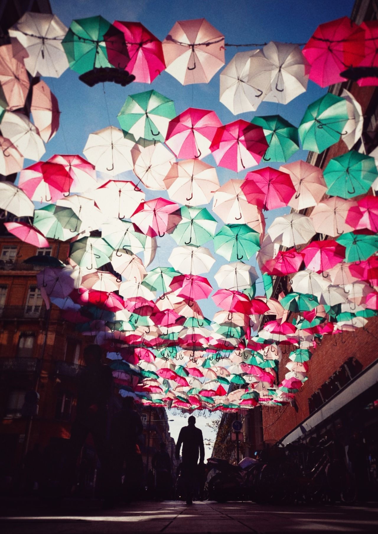 Umbrella Sky in Toulouse Art Traveling Travel Photography Love Without Boundaries