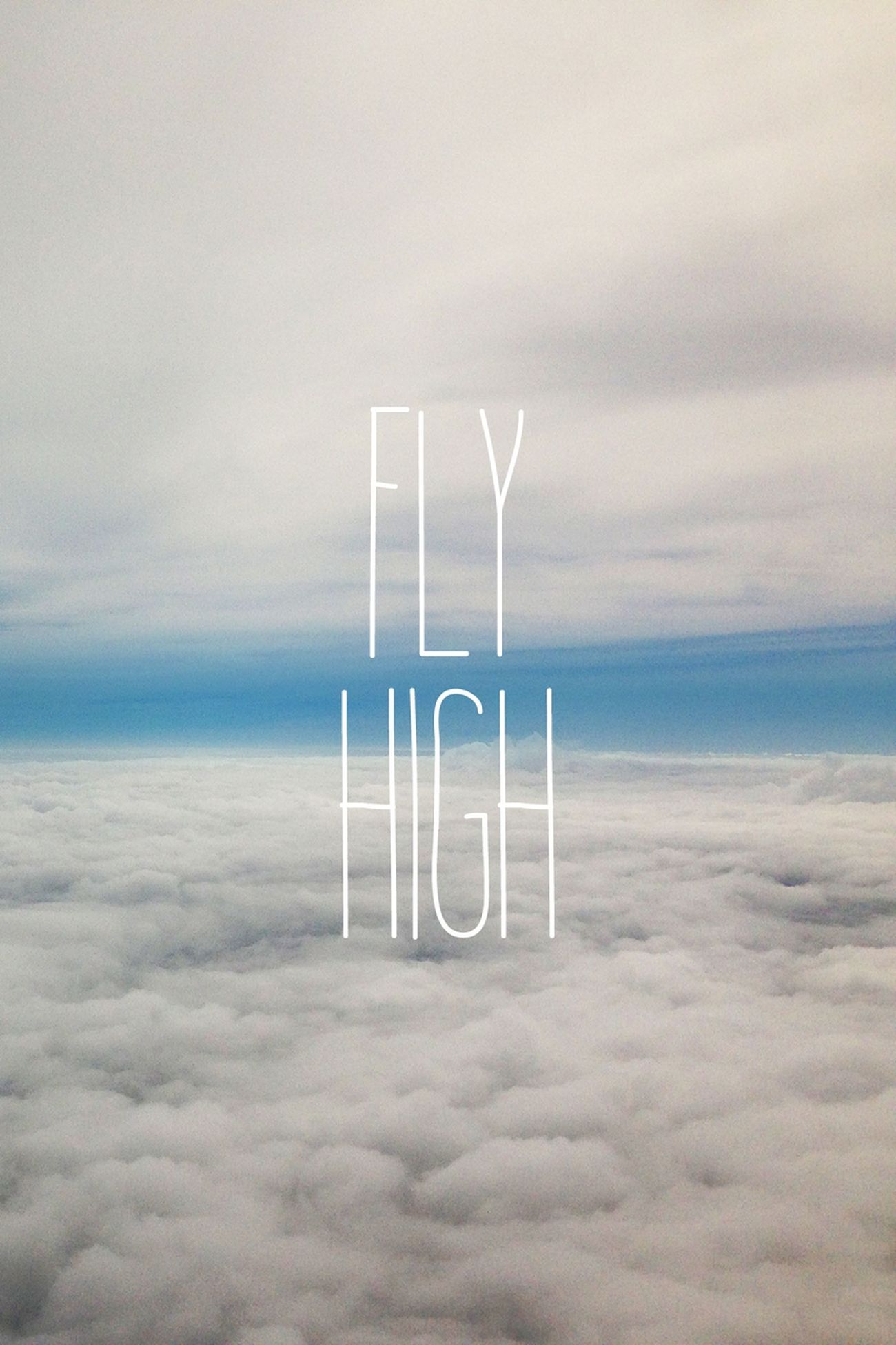 ☆ Hi!, Fly, Sky & Clouds ☆