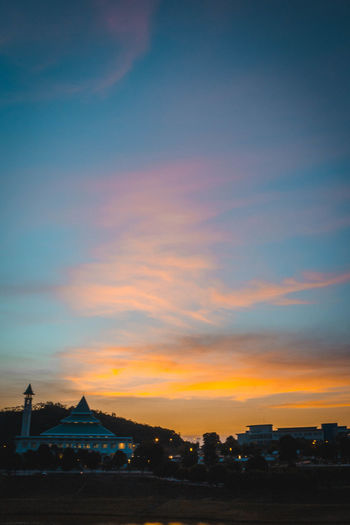 Architecture Beauty In Nature Building Exterior Built Structure Cloud - Sky Day Dusk Nature No People Outdoors Scenics Silhouette Sky Sunset Tranquil Scene Tranquility Travel Destinations First Eyeem Photo