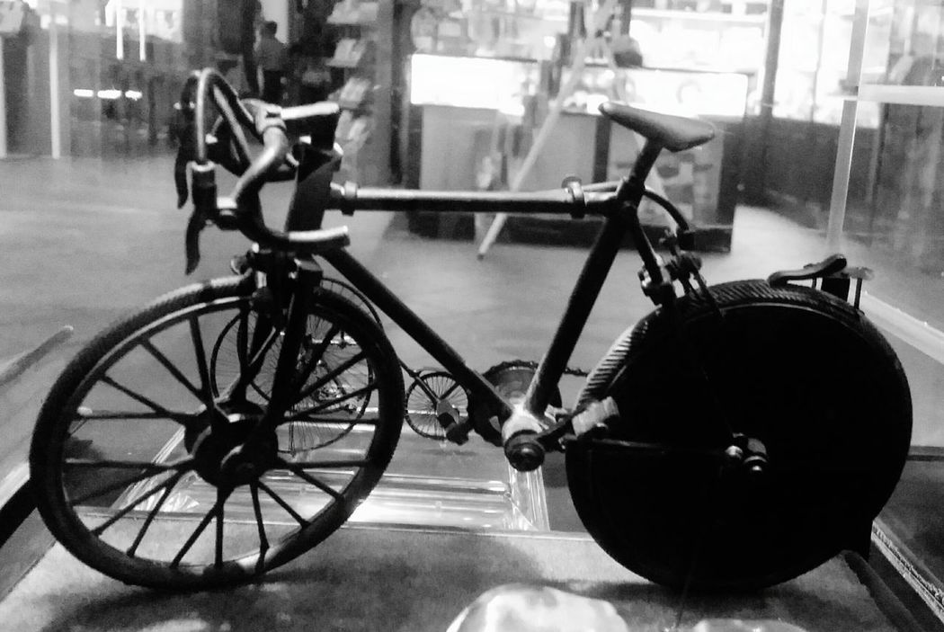 Bike Miniature Black And White Black And White Collection  Black And White Photography