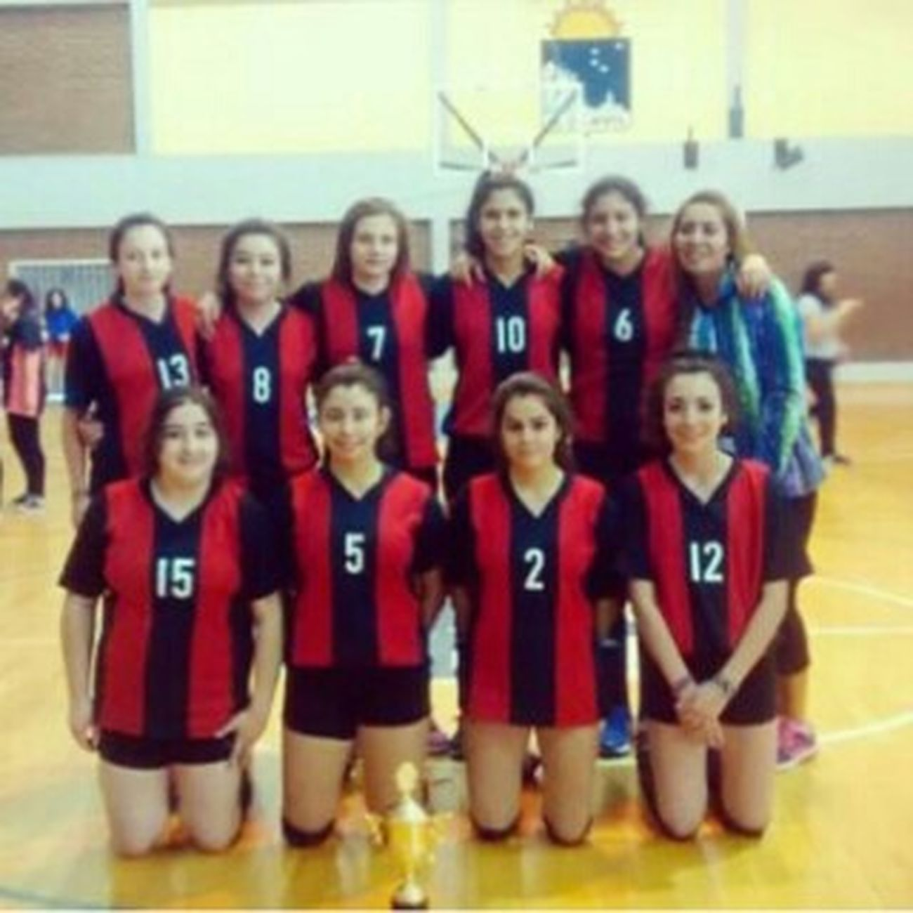 Equipo <3 Campeon <3 Voleyball