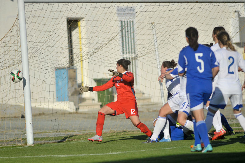 Israel women National football team win 1-0 against Cyprus women National footbal team in the last game for the 2nd Aphrodite Cup in Limassol,Cyprus on 16.03.2016 0-1 16.03.2016 2nd Aphrodite Cup Cyprus CYPRUS FOOTBALL ASSOCIATION Cyprus Women National Team Israel Women National Football Team Limassol Cyprus