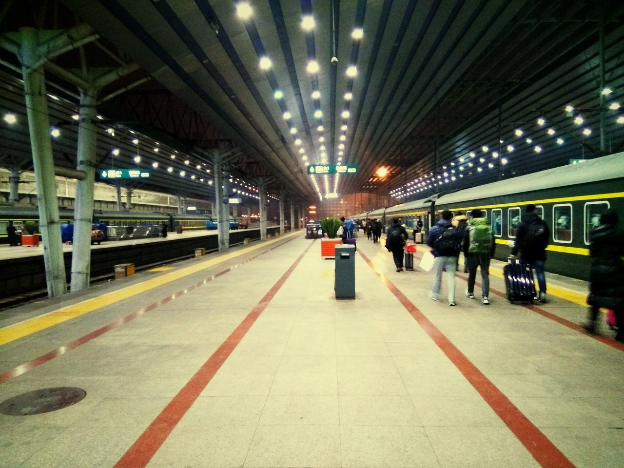 beijing west railway station.