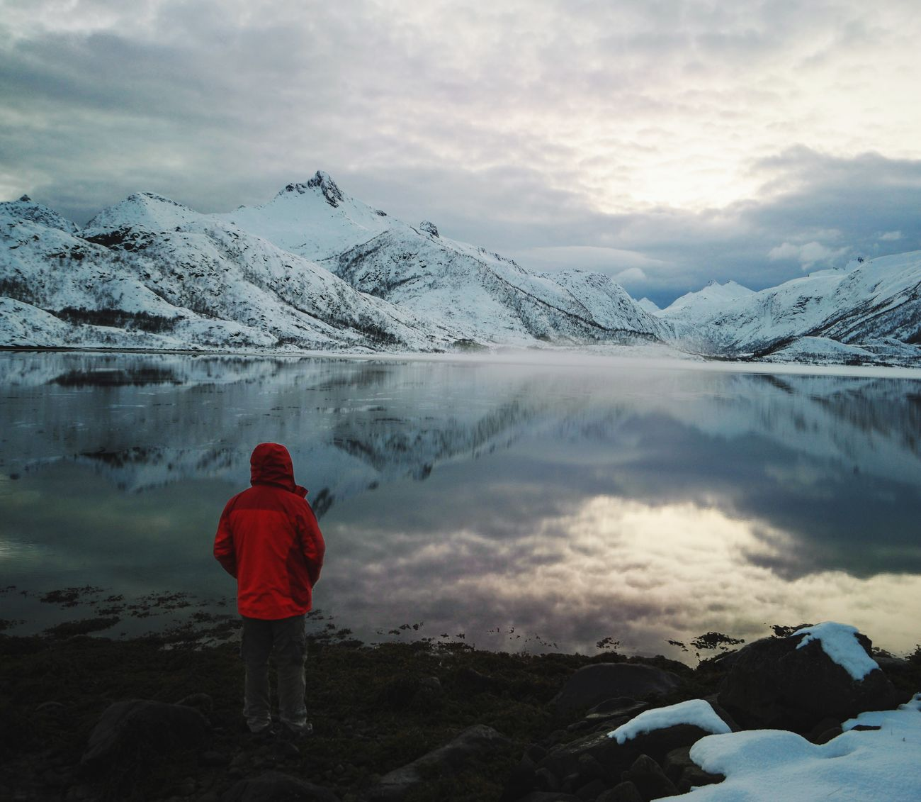Its gonna be white monster all over Envision The Future The Great Outdoors - 2016 EyeEm Awards The Great Outdoors With Adobe Travel Landscape Mothernature Sea And Sky Mountains Lake Snow EyeEm X Adobe - The Great Outdoors