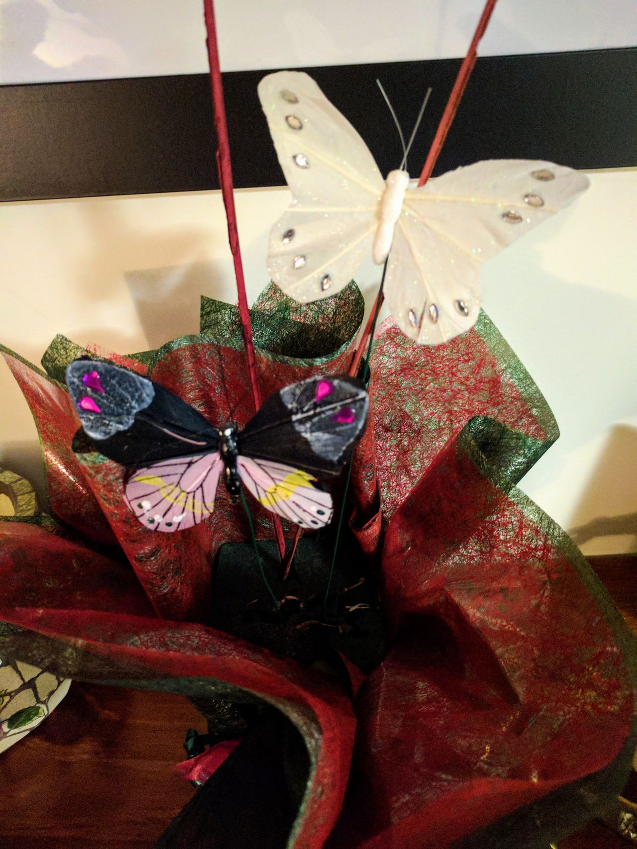 Crafts Multi Colored Close-up No People Indoors  Mobile Photography Mobilephotography Decorations Creativity Handmade Papercraft Butterfly ❤