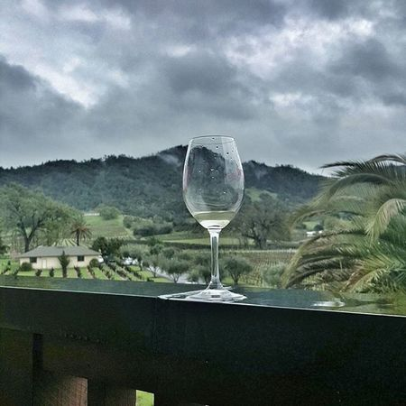 Wine is bottled poetry. Robert Louis Stevenson Listening to:Not a bad thing - Juatin Timberlake MyPhotography Sarazjourneys Winecountry Wine Sonoma Greyskies Landscape