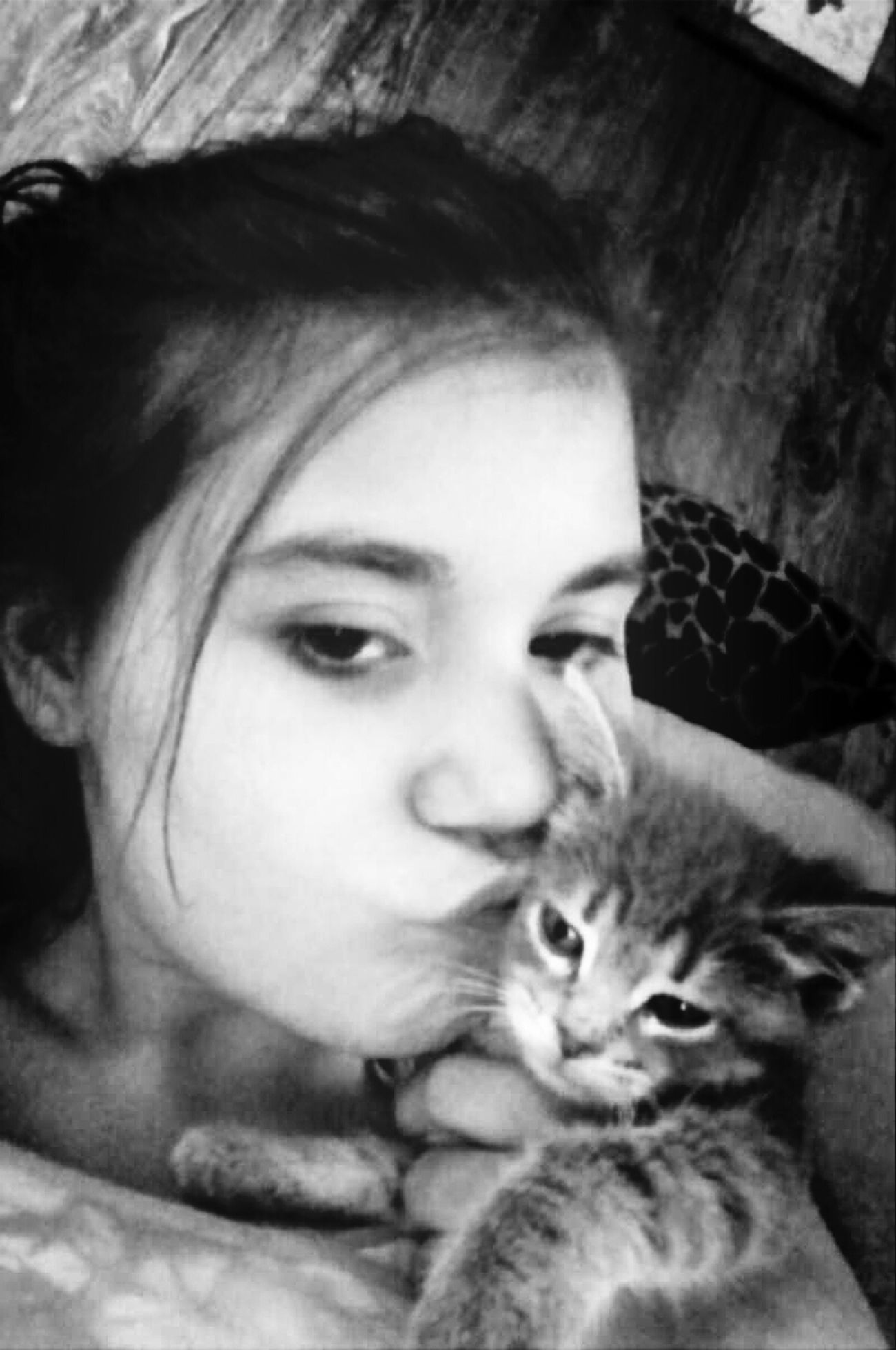 me and my kitty Kittylove My New Kitty :)