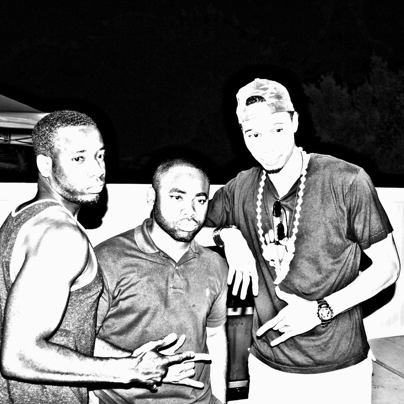The Malik's overexposed Frat Life Black & White Cookout St. Albans