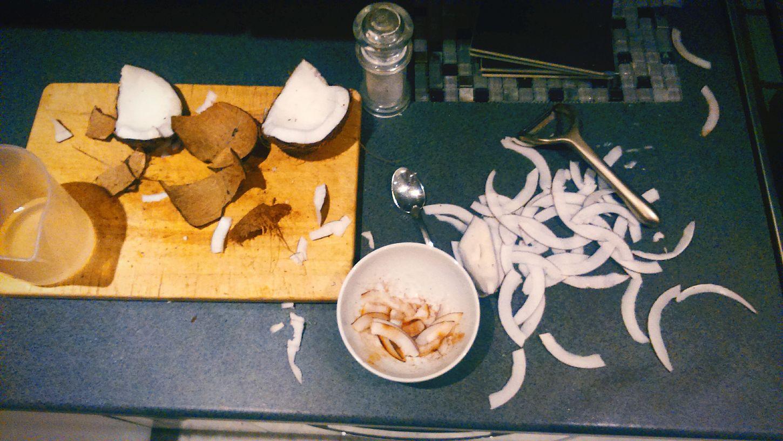 Coconut Crisps.. Mmmm Chef Life Grastronomy Jamaica