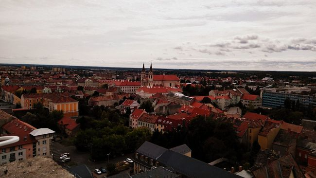 Made by Sony Xperia M4 Aqua 15 Floors High Autumn Autumn Sky And Clouds Buildings Church City City Life Cityscape Clouds Highest Building Houses Montain  On Top Panorama Roof Rooftop Sky Streets Szombathely View View From The Top