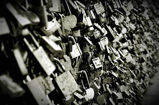 Locks Of Love Paris Nikon Blackandwhite
