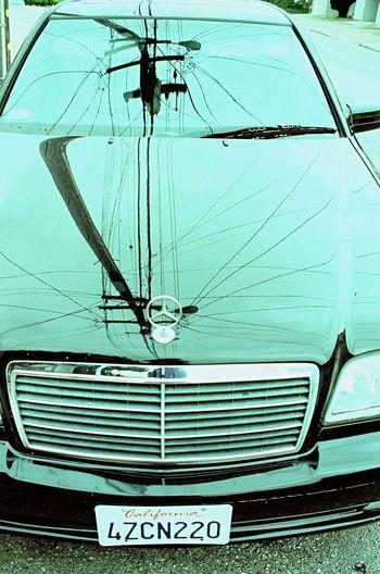 Zenit122 Transportation No People Reflection Classic Car Mercedes Koduckgirl Lomo Xpro 100 Film
