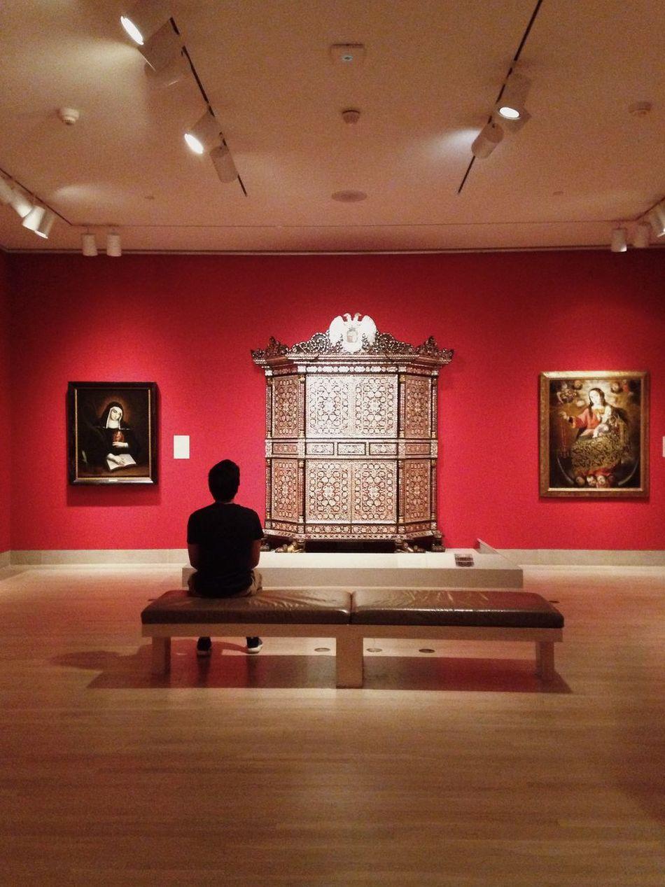 Dallas museum o art Dma  Dallas Red Minimalism
