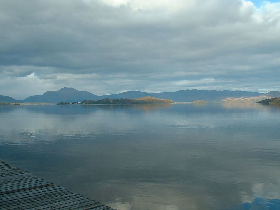 Beauty In Nature Reflection Lake Cloud - Sky Water No People Loch Lomand  Scotland.
