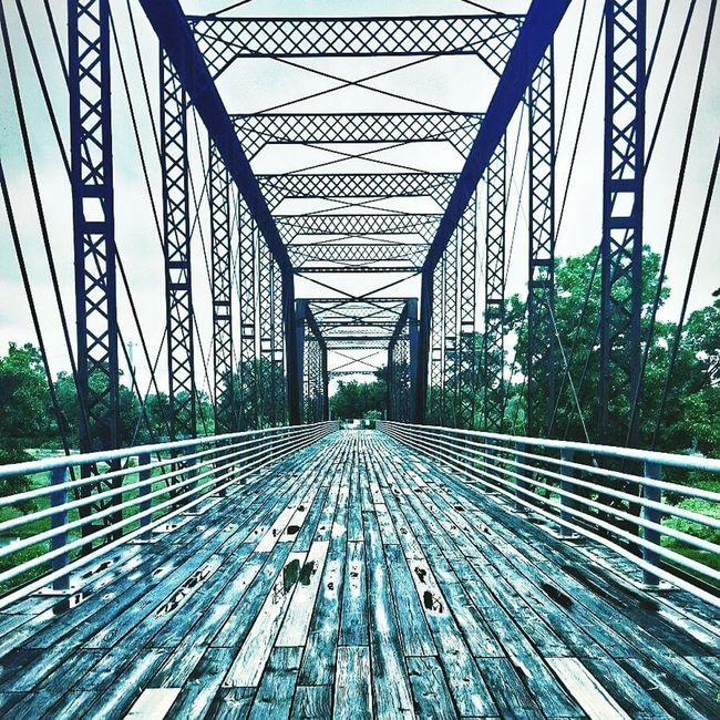 The bridge over the park. First Eyeem Photo Bridge Bridge View Bridgeporn Hdrphotography Hdr_lovers HDR Atxphotography ATx Atxlocal