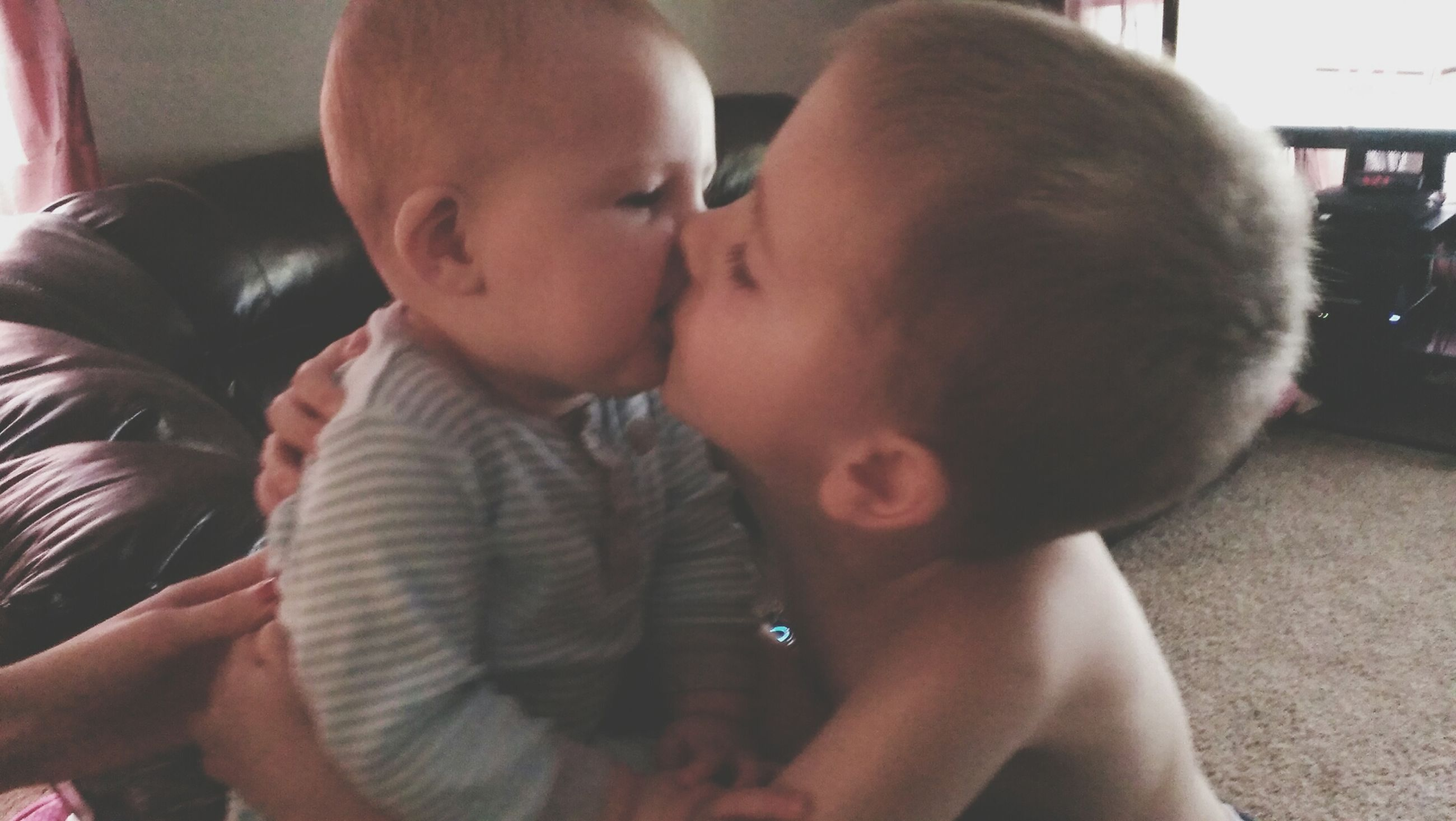 childhood, lifestyles, elementary age, innocence, leisure activity, boys, baby, cute, babyhood, holding, bonding, toddler, togetherness, girls, indoors, person