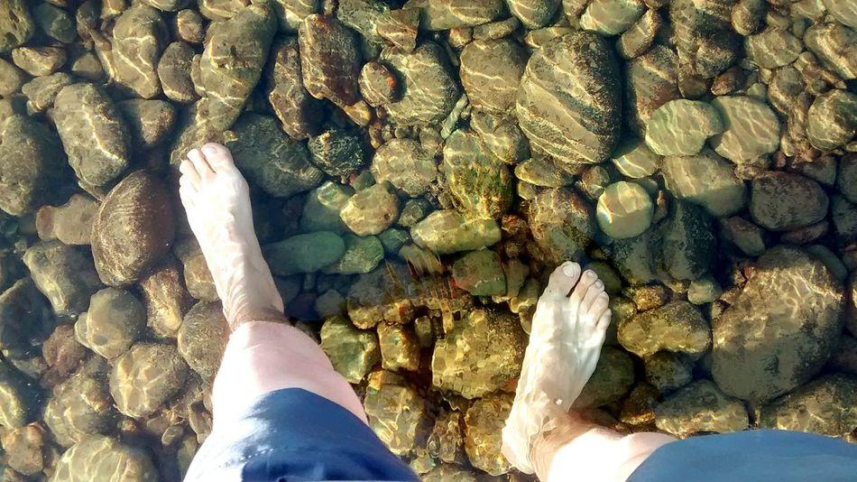 My little nirvana... Barefoot